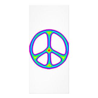 Tarjetas del estante del promo del Hippie del sign Tarjeta Publicitaria Personalizada