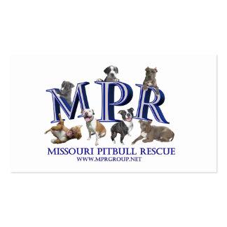 Tarjetas del folleto del MPR Tarjetas De Visita