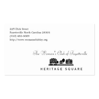 Tarjetas del folleto tarjetas de visita
