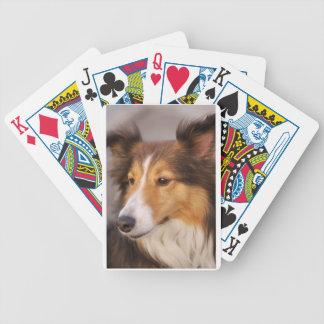 Tarjetas del juego de Shelty Baraja De Cartas