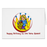 Tarjetas del Keno: Feliz cumpleaños a la reina del