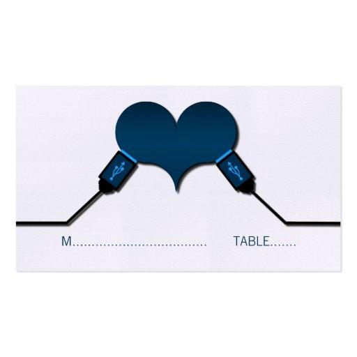 Tarjetas del lugar de USB de la conexión del amor, Tarjetas De Visita