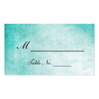 Tarjetas del lugar del boda de la acuarela del tarjetas de visita