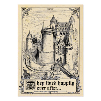 Tarjetas del lugar del boda del guión del cuento d plantilla de tarjeta de visita