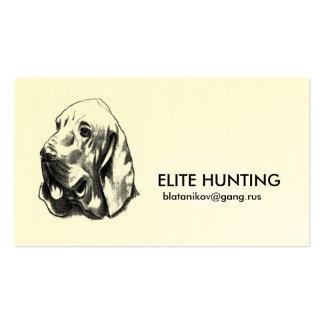 Tarjetas del miembro de la caza de la élite tarjetas de visita