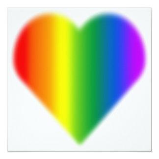 Tarjetas del mismo sexo del amor de las invitación personalizada