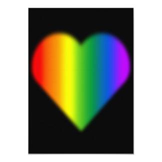 Tarjetas del mismo sexo del amor de las invitacion personalizada