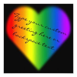 Tarjetas del mismo sexo del amor de las comunicados personalizados