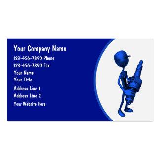 Tarjetas del negocio automovilístico tarjetas de negocios