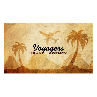 Tarjetas del negocio de representación del viaje tarjetas de visita
