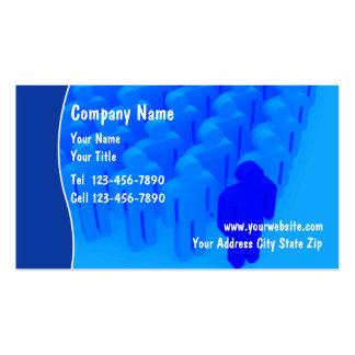 Tarjetas del negocio de seguros plantillas de tarjetas personales