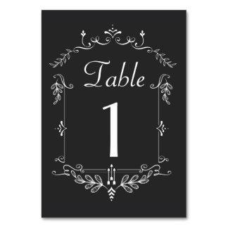 Tarjetas del número de la tabla del tema de la