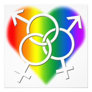 Tarjetas del orgullo de las invitaciones LGBT del