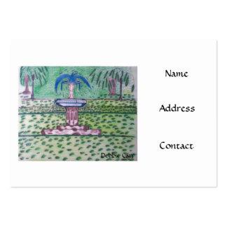 Tarjetas del Parque-negocio de Forsythe Tarjetas De Visita Grandes