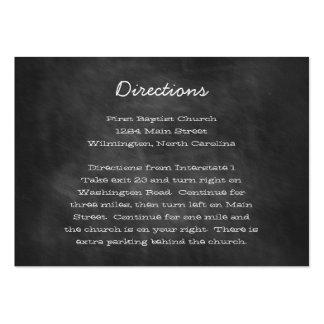 Tarjetas del parte movible de las direcciones del  tarjetas de visita