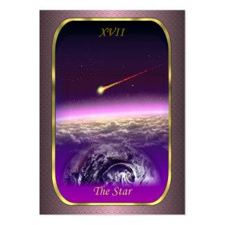 Tarjetas del perfil de Tarot - la tarjeta de la Tarjeta De Visita