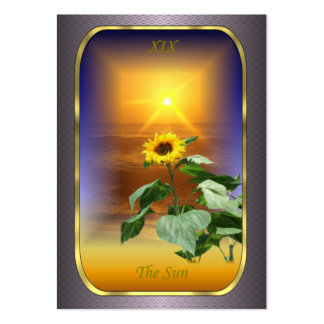 Tarjetas del perfil de Tarot - The Sun Tarjeta De Visita