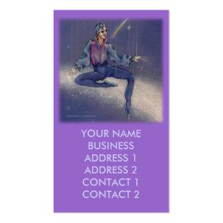 Tarjetas del perfil del negocio - Mime cósmico sq Tarjeta De Negocio