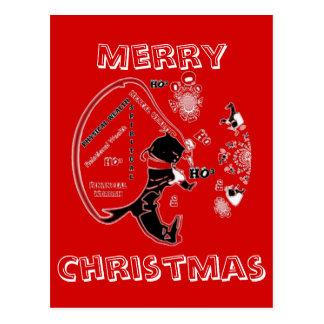 Tarjetas del personalizar de las Felices Navidad Postal