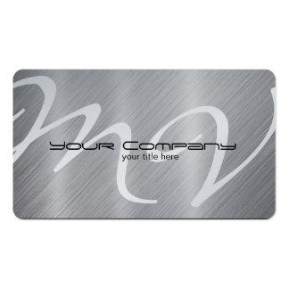 Tarjetas del platino/de visita de aluminio plantillas de tarjeta de negocio