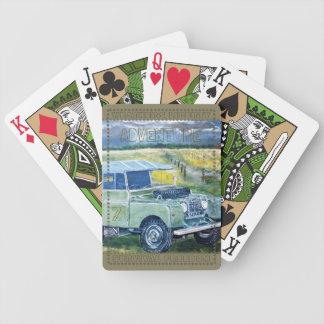 Tarjetas del póker de la bicicleta del lema baraja de cartas bicycle