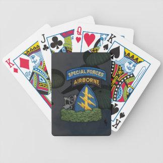 tarjetas del póker de los veteranos de los veterin baraja cartas de poker