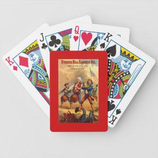 Tarjetas del póker del Bunker Hill ARW América del Barajas