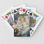 Tarjetas del póker del dux del espacio barajas