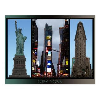 Tarjetas del recuerdo de la señal de Nueva York de Tarjetas Postales