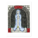 Tarjetas del rezo de Maria del saludo Plantilla De Tarjeta De Negocio