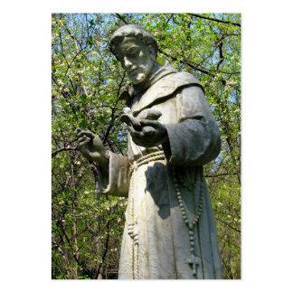 Tarjetas del rezo de St Francis Tarjetas De Visita Grandes
