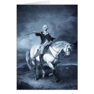 Tarjetas del saludo de George Washington