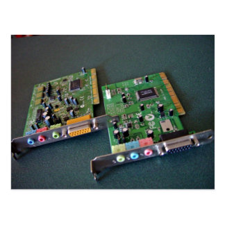 tarjetas del sonido/de la palanca de mando del PCI Postal