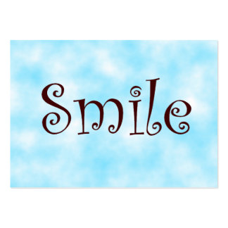 tarjetas del sonrisa-negocio plantillas de tarjetas personales
