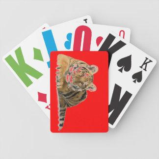 tarjetas del tigre no dude en para modificar estas baraja cartas de poker