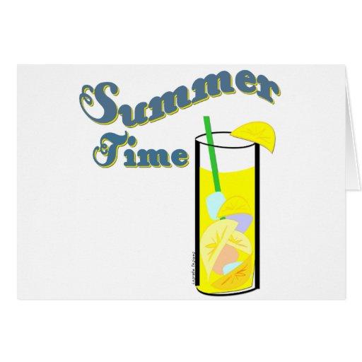 Tarjetas del verano