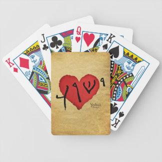 tarjetas del yeshua cartas de juego
