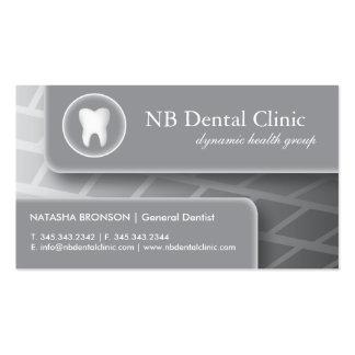 Tarjetas dentales/del ortopedista de visita tarjeta de visita