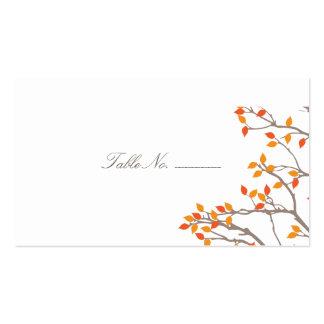 Tarjetas dichosas del acompañamiento de la tabla d tarjetas de visita
