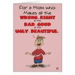 Tarjetas divertidas del día de madres: Toda la der