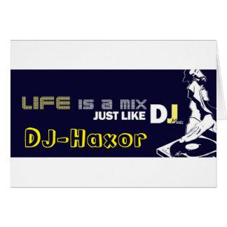 Tarjetas DJ-Haxor