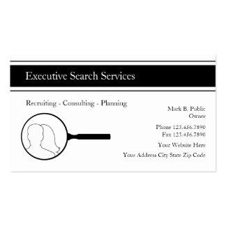 Tarjetas ejecutivas del negocio de representación  plantillas de tarjetas de visita