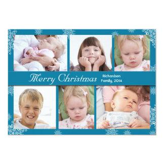 tarjetas elegantes de las vacaciones de invierno comunicado personal