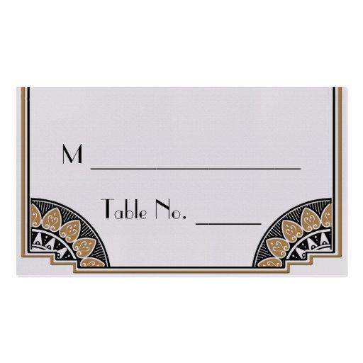 Tarjetas elegantes del lugar del boda del oro del plantillas de tarjeta de negocio