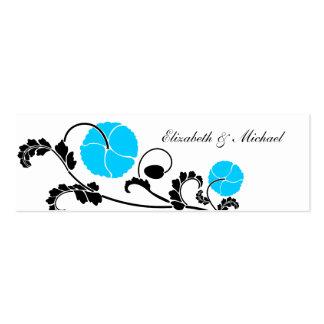 Tarjetas elegantes del registro de regalos de la tarjetas de visita mini
