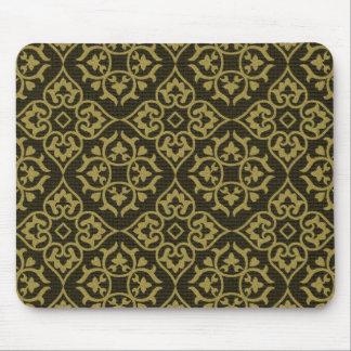 Tarjetas embellecidas vintage de la tela, franqueo tapetes de raton