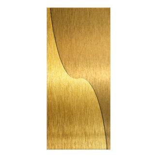 Tarjetas en blanco del estante del oro de Yin Yang Diseños De Tarjetas Publicitarias