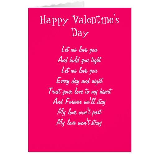 Tarjetas especiales del el día de San Valentín del