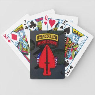 Tarjetas especiales del póker del remiendo de USAS Barajas De Cartas