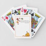 Tarjetas estacionales cartas de juego
